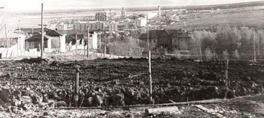 Вид на Сергач от места, где находился дом А.Л. Ященко