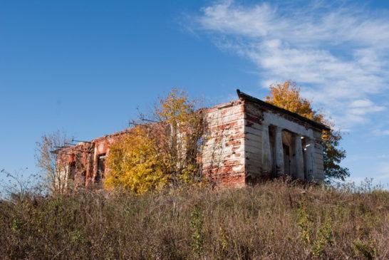 Основание храма в селе Пересекино Больше-болдинского района