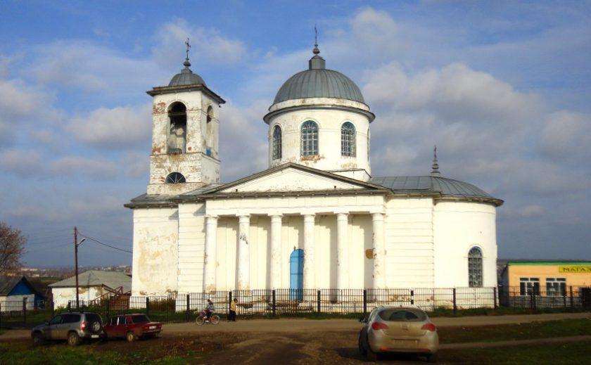 Село Пожарки, Никольский храм