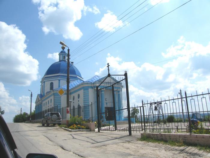 Сергач, храм Владимирской иконы божьей матери