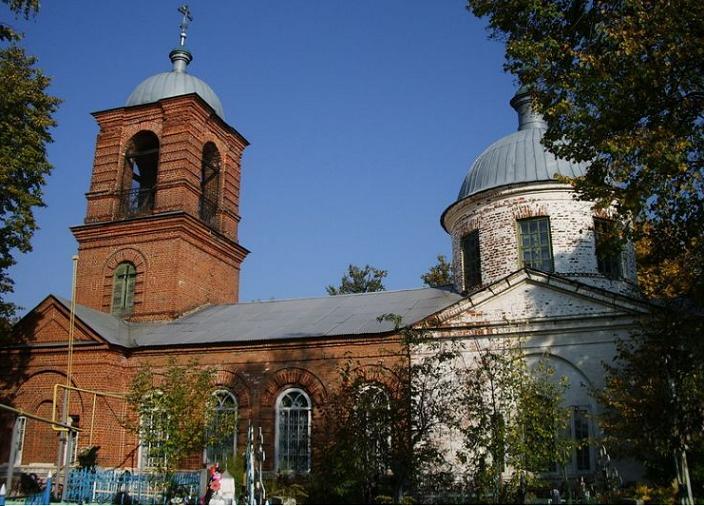 Церковь Иоанна Милостивого в Сергаче