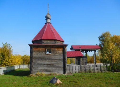 Часовня в селе Столбищи Пильнинского района