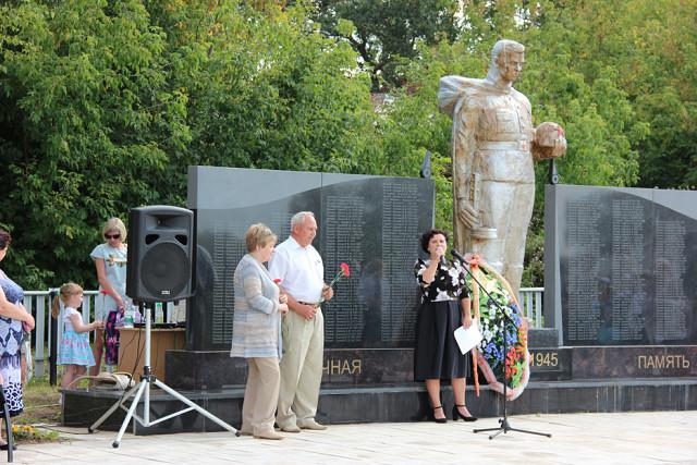 Толба. Памятник погибшим в ВОВ.