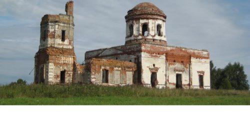 Храм Владимирской иконы Божьей Матери в селе Утка