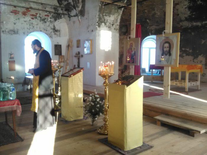 В храме иконы Казанской богоматери в Кузьминке