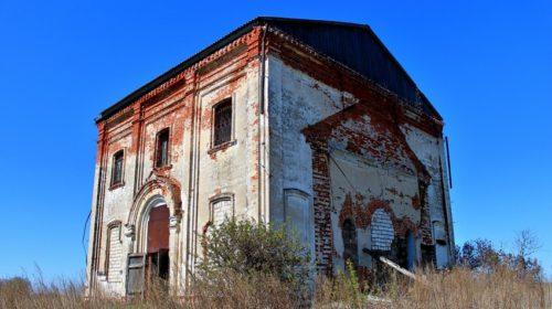 Село Воронцово Гагинского района Церковь Покрова Пресвятой Богородицы в Болобанове