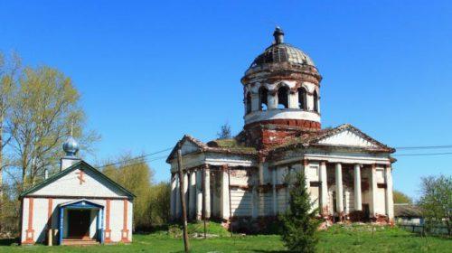 Церковь Воскресения Словущего в селе Юрьево Гагинского района Нижегородской области